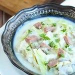 Крем-суп с говяжьей солониной по-ирландски