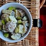 Ирландский картофельный салат с яблоками