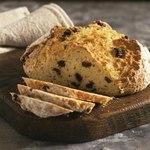Ирландский содовый хлеб с изюмом