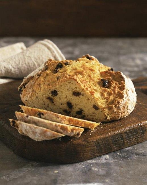 Фото Ирландский содовый хлеб с изюмом