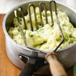 Чамп – картофельное пюре по-ирландски с зеленым горошком