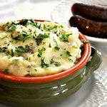 Чамп – картофельное пюре по-ирландски с зеленым луком