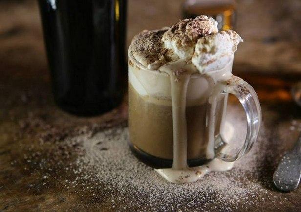Фото Нарядный ирландский кофе