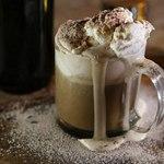 Нарядный ирландский кофе