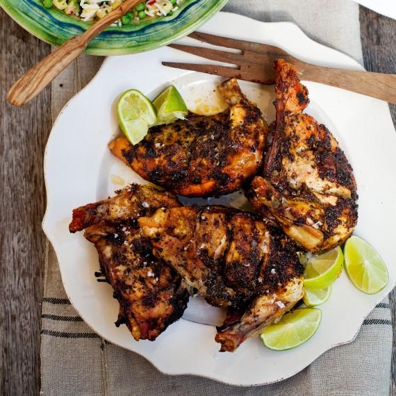 Курица по-ямайски «Jerk»