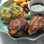 Курица «Jerk» по-ямайски с соусом барбекю