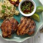 Курица на гриле в ароматном маринаде по-карибски