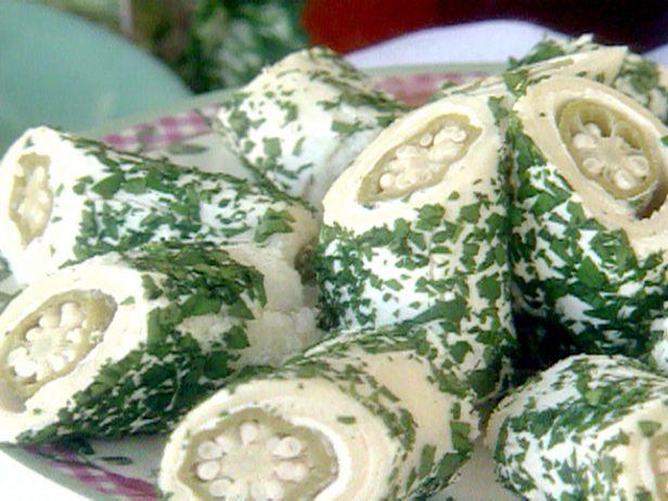 Фото Сэндвич-рулеты с маринованной бамией