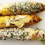 Запеченная на гриле кукуруза по-кубински