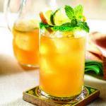 Ледяной манговый чай