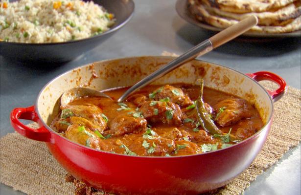 Курица с индийскими специями