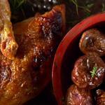 «Не просто курица» - хрустящие запеченные куриные грудки с апельсином и кардамоном