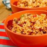 Рис с фасолью по-багамски