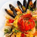 Паэлья с морепродуктами «Paella Cubana»