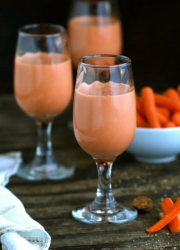 Фото Ямайский морковный сок