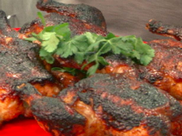 Курица со специями Гарам масала в кленово-тамариндовой глазури