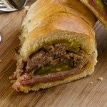 Сэндвич со свининой «Джерк»