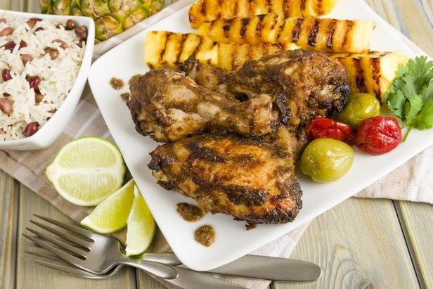Курица карибских островов
