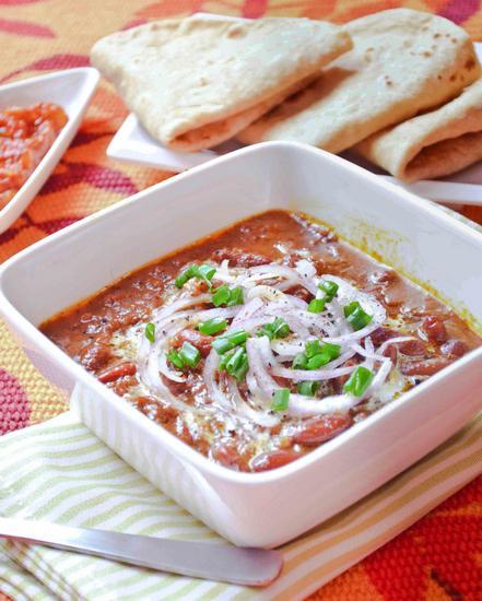 Раджма - вегетарианский чили