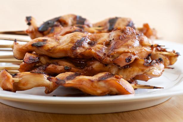 Куриный шашлык на гриле - курица тандури