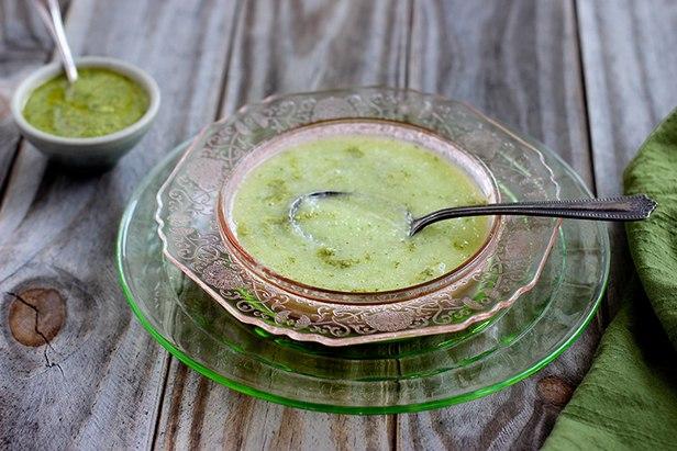 Фото Холодный суп-пюре с дыней