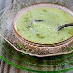 Холодный суп-пюре с дыней