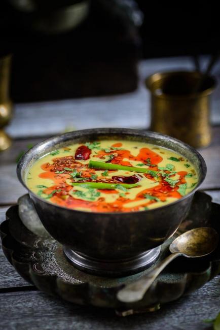Фото Гороховый суп-пюре «Дал»