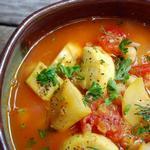 Рагу из сезонных овощей по-карибски