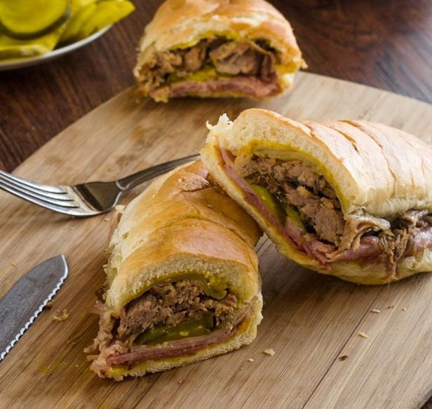 Классический кубинский сэндвич