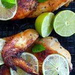 Курица в мятной глазури «Мохито»