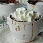 Пирожное «Лава» (Шоколадный фондан в горшочке)
