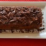 Четверной шоколадный кекс в форме буханки