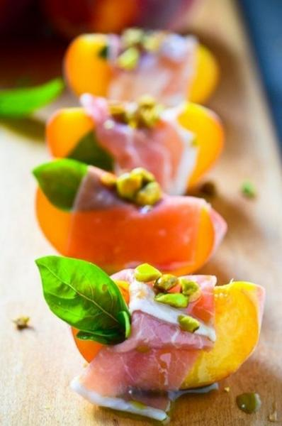 Пряные персики
