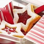 Праздничное печенье для украшения елки