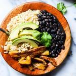 Рис с фасолью по-кубински