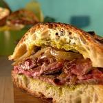Кубинский сэндвич с говядиной