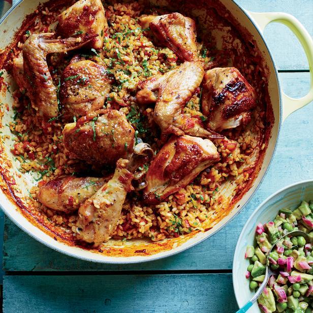 Курица с рисом «Арроз кон полло»