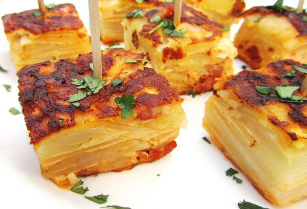 Фото Испанская тортилья (омлет с картофелем)
