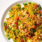 Креветки с рисом по-испански