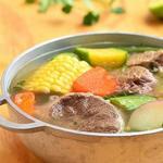 Испанский суп с говядиной