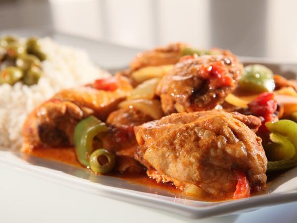 Рис с курицей в медленноварке