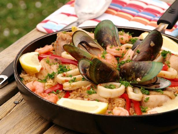 Фото Паэлья с морепродуктами