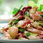 Испанский салат с морепродуктами (Энсалада де мар)
