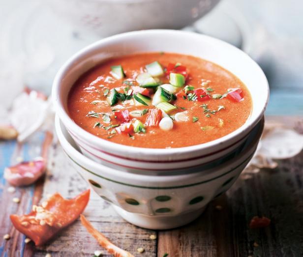 Испанский суп гаспачо рецепт