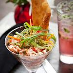 «Парфе» из говядины и перца в стиле тапас (маленькие порции, безграничный вкус)