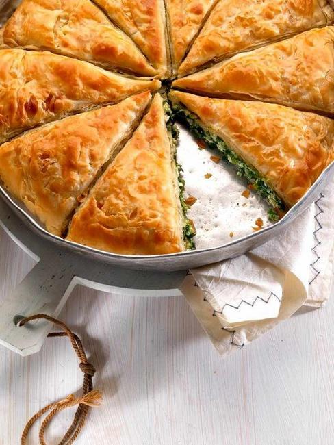 Фото Спанакопита (Греческий пирог со шпинатом)