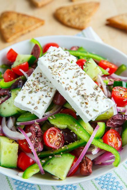 греческий салат фото рецепт фета