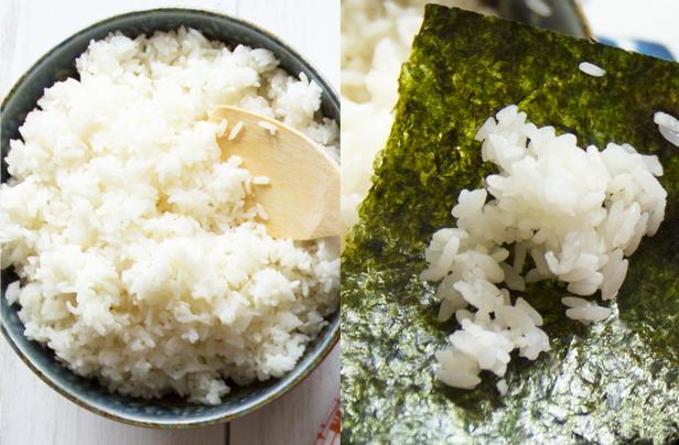 Фото Рис для суши в рисоварке