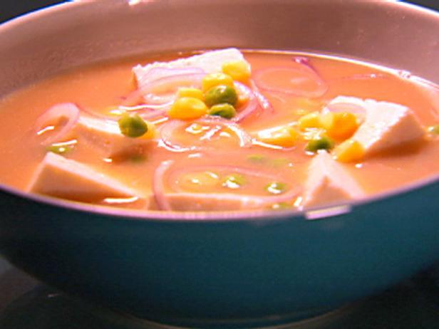 Мисо-суп с кукурузой