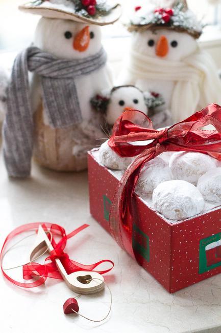 Греческое рождественское печенье (Курабье)